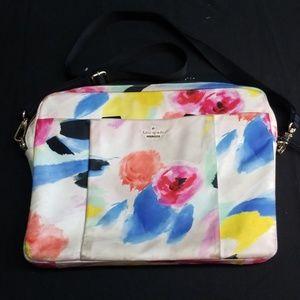 Kate Spade Floral  Laptop Bag